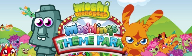 "Surround yourself with  the many fun and funky characters in the world of ""Moshi MOnsters""!"