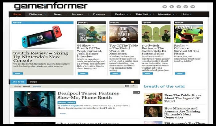 Game informer gaming blogs
